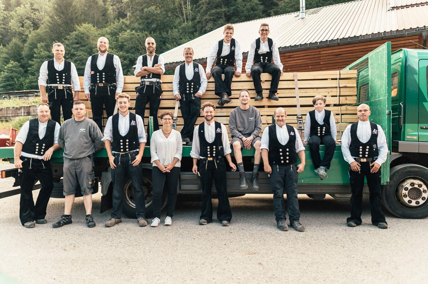 Holzbaubetrieb Zumkeller Team