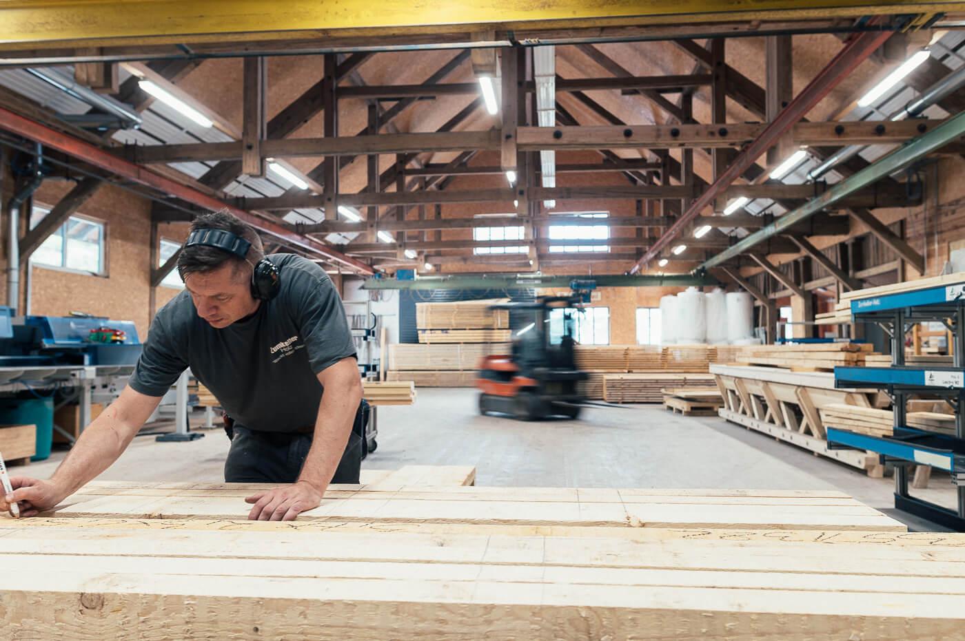 Zumkeller Holzbaubetrieb Todtmoos haus